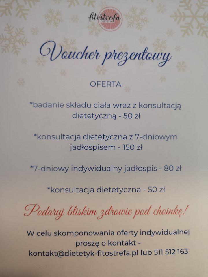 Voucher prezentowy Sympatik Nasielsk poradnia dietetyczna